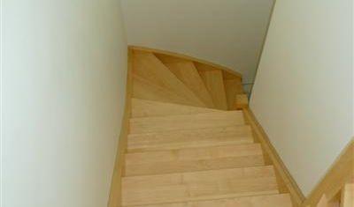Volledig op maat gemaakte trap.
