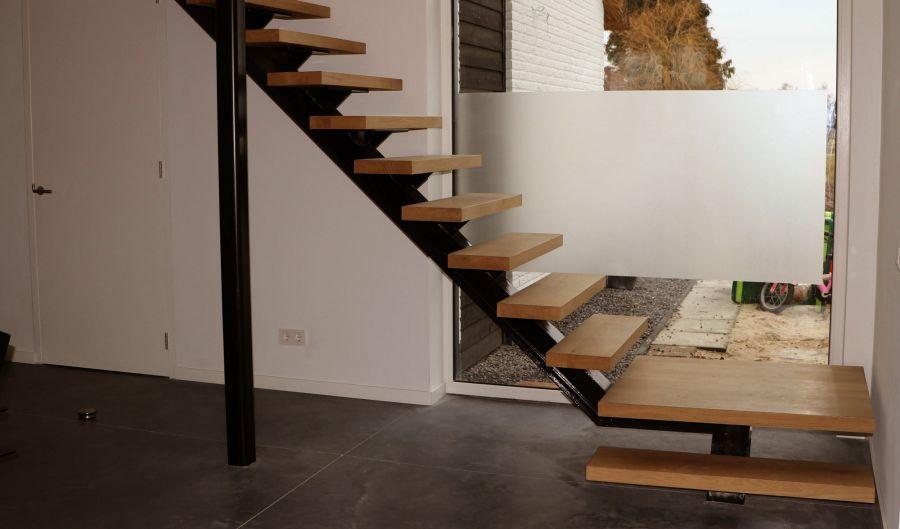 Zwevende Trap Veiligheid : Trappen op maat gemaakte houten trappen
