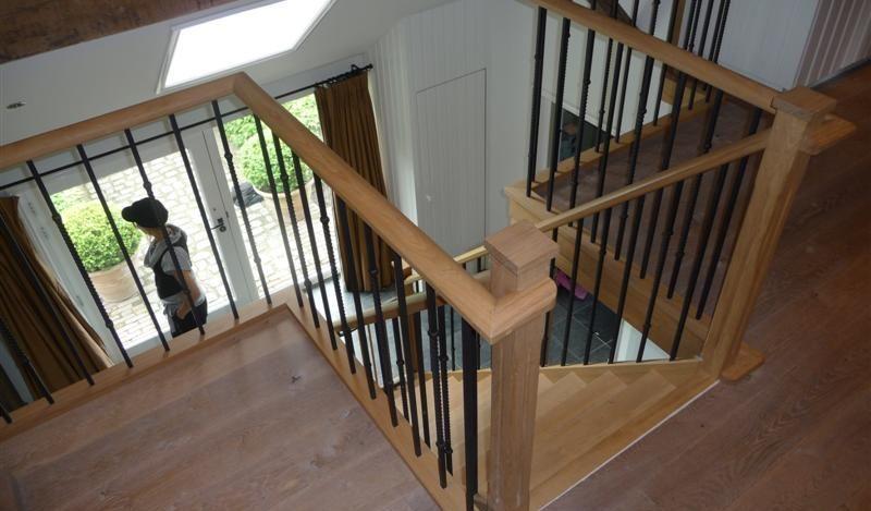 Bordes voor zien van stijlvolle balustrade